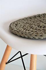 Úžitkový textil - ...podsedák na stoličku OLIVE - 9964662_