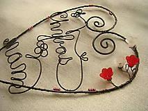 Dekorácie - Srdce - 9963766_