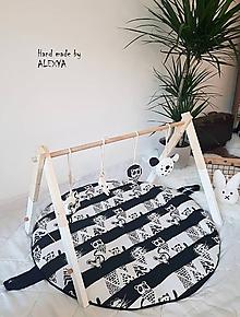 Hračky - drevená hrazdička pre bábätko - 9965476_