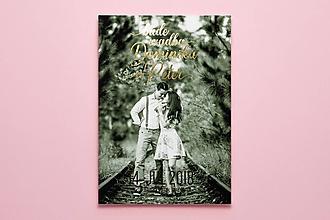 Papiernictvo - Svadobné oznámenie s fotkou - 9965370_