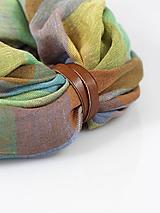 - Pestrofarebný štýlový hrejivý nákrčník
