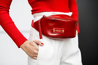 Iné tašky - Ľadvinka MARATHON z pravej kože - 9963064_