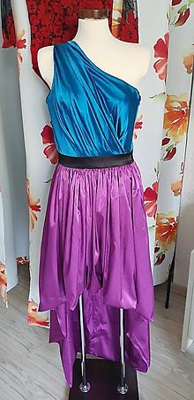 Šaty - Šaty na stužkovú slávnosť high-low - 9964230_