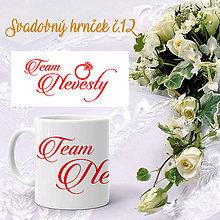 Nádoby - Svadobný hrnček 12 - 9963741_