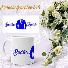 Nádoby - Svadobný hrnček 14 - 9964025_