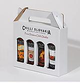 Potraviny - DARČEKOVÉ BALENIE Chilli omáčok 4x100ml - BIELE - 9966142_