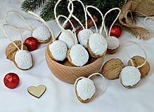- Vianočné orechy biele z madeiry s hviezdičkou - 9964653_