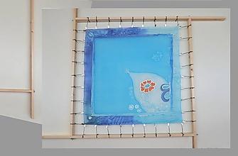 Pomôcky/Nástroje - Rám na maľovanie hodvábu alebo iného textilu - štvorcový - PREMIUM - 9966805_
