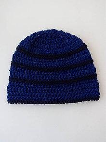 Detské čiapky - Háčkovaná čiapka pre chlapca - 9968017_