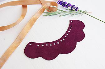 Náhrdelníky - Kožený náhrdelník - 9969200_