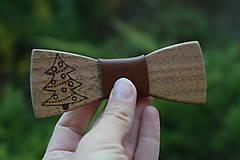 Doplnky - Drevený motýlik - stromček - 9968037_