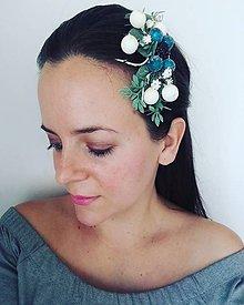 Ozdoby do vlasov - Elegantný hrebienok