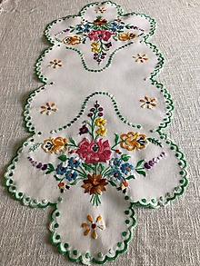 Úžitkový textil - Folklórna dečka - 9969126_