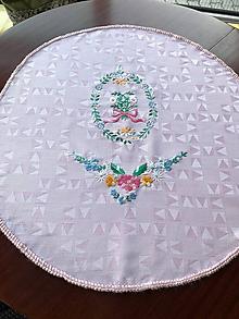 Úžitkový textil - Dečka na okrúhly stôl - 9969188_