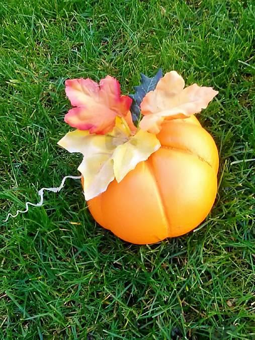 Jesenná betónová tekvička   katrenka24 - SAShE.sk - Handmade Dekorácie 4286ea6625d