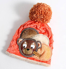 Detské čiapky - Hrejivá čiapka - 9970750_