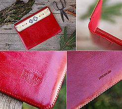 Na notebook - PUZDRO FOLK EDITION ČERVENÉ (na iPad Pro 10.5 (drievko s červenou niťou)) - 9969320_