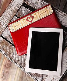 Na notebook - PUZDRO FOLK EDITION ČERVENÉ (na MacBook Pro 15 (drievko s červenou niťou)) - 9969331_