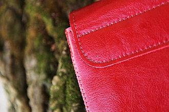 Na notebook - PUZDRO FOLK EDITION ČERVENÉ (na MacBook Air 13 (drievko s červenou niťou)) - 9969339_