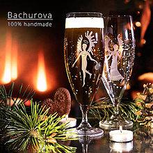 Kytice pre nevestu - Poháre na vianočné pivko - 9968857_