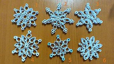 Dekorácie - vianočné vločky - 9968966_