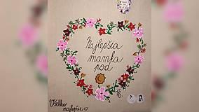 Nákupné tašky - ♥ Plátená, ručne maľovaná taška ♥ - 9967142_
