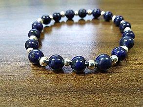 Náramky - Náramok Lapis lazuli - 9967100_