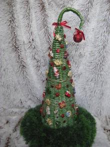 Dekorácie - RETRO -vianočný stromček - 9970855_