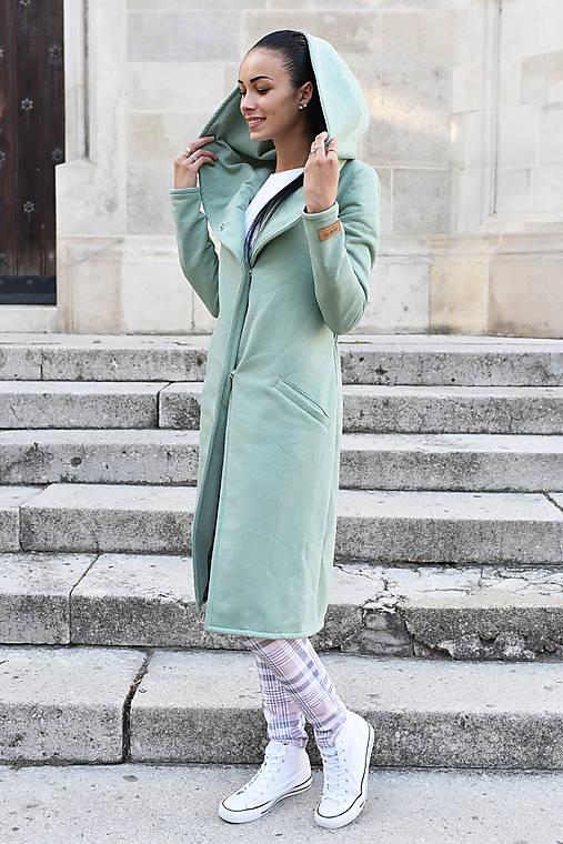 Kabáty - Dámsky Cardigan MINT - 9968896_