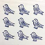 Dekorácie - Ptáček - plaketa - 9966903_