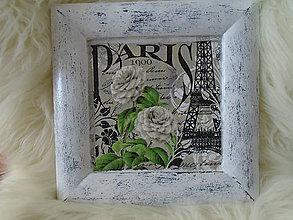 Obrázky - Vintage obrázok ,,Paris