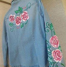 Košele - Rifľová košeľa bledo modrá - 9968755_