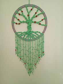 Dekorácie - Strom života s korálkami - 9967000_