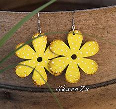 Náušnice - Bloom Yellow // - 9970044_