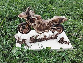 Dekorácie - Motorka - 9969785_