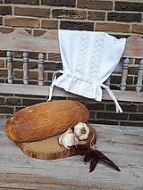 Ľanové vrecko na chlieb Love Lace