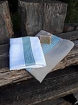 Ľanová osuška a uterák Pure Linen II