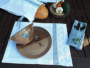 Úžitkový textil - Ľanové prestieranie Cottage Dream - 9969904_