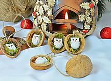 - Vianočné oriešky so sovičkami - 9968958_