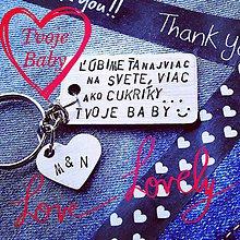 Kľúčenky - ľúbime Ťa viac ako cukríky :) - 9973810_
