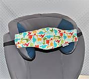 Textil - Opierka na hlávku do autosedačky - 9971830_