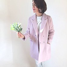 Kabáty - girlfriend coat .vlna - 9972113_