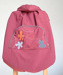 Detské doplnky - softshellová kapsa s odopínateľným flisom - 9972589_