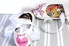 Obuv - svadobné balerínky - japonská čerešňa - 9972770_