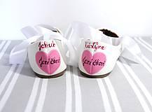 Obuv - svadobné balerínky - japonská čerešňa - 9972771_