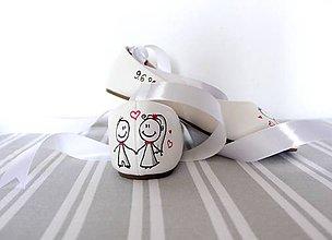 Obuv - svadobné balerínky simple - 9971844_