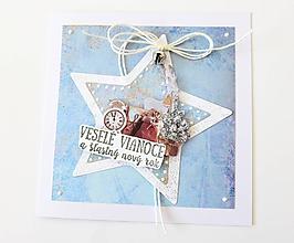 Papiernictvo - pohľadnica vianočná - 9971584_