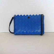 Kabelky - Kabelka, modrá, 24,5 x 16,5 cm, zľava z 23 na 18 eur - 9972214_