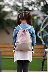 Detské tašky - Batoh mačička PINK 1 - 9974497_