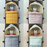 Textil - RUNO SHOP fusak pre deti do kočíka 100% ovčie runo MERINO TOP super wash ELEGANT Rainbow MINT Mentolová - 9974386_